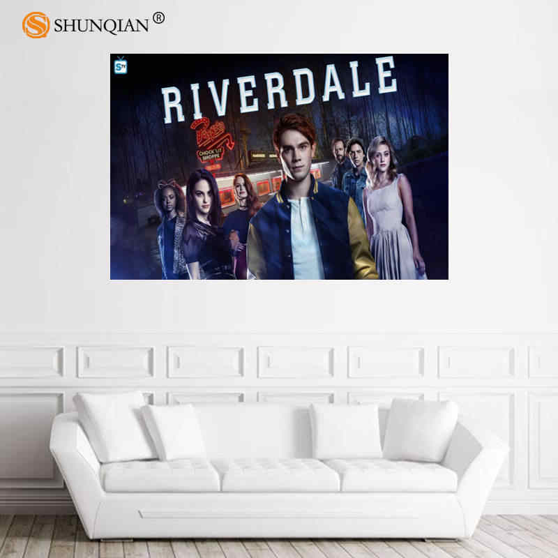 Nice Riverdale Poster Custom Satin Poster Print Cloth Fabric Wall Poster Print Silk Fabric Print Poster 18-1-16