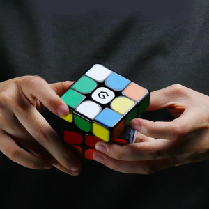 Image 3 - Youpin cubo magnético Giiker M3 3x3x3, cubo mágico cuadrado de Color vivo, rompecabezas de Ciencia, Educación no funciona con la aplicación Giiker
