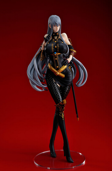 ФОТО 1pcs game character Unrecorded Chronicles Imca action pvc figure toy tall 25cm.