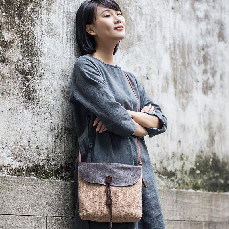 2019 ผู้หญิง ctton ผ้าใบกระเป๋าสะพายลำลองผ้าลินินขนาดเล็ก Messenger กระเป๋าผู้หญิง cross body กระเป๋าแฟชั่นดอกไม้ฟรี SHIPP-ใน กระเป๋าหูหิ้วด้านบน จาก สัมภาระและกระเป๋า บน AliExpress - 11.11_สิบเอ็ด สิบเอ็ดวันคนโสด 1