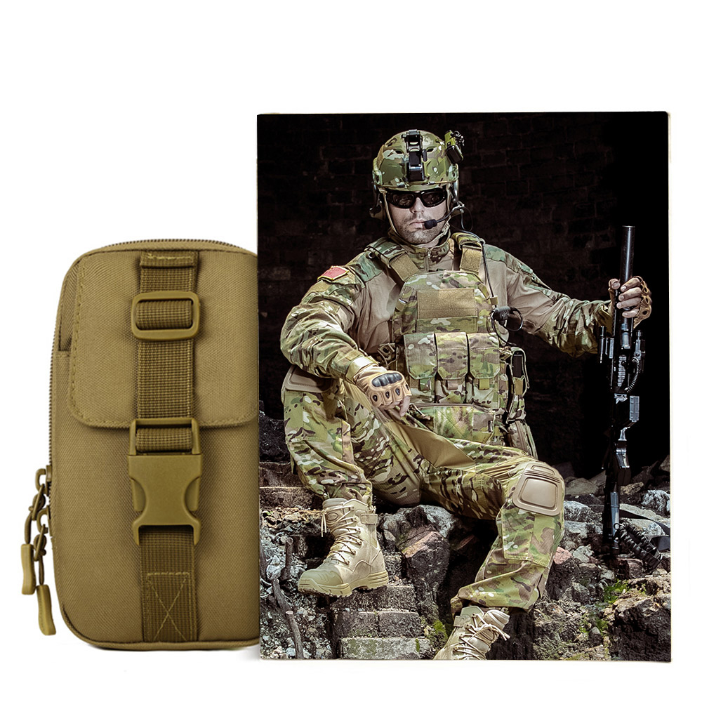New Arrival SINAIRSOFT MOLLE System accessory bag Fishing Climbing Bags Tactical Pouch Army Durable Travel Hiking Molle bag