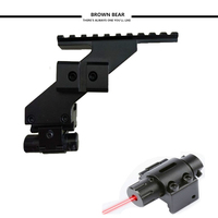 Tactical Universal Pistol Scope raise Mount Weaver & Picatinny Rail Pistol Rail met rode laser dot sight scope