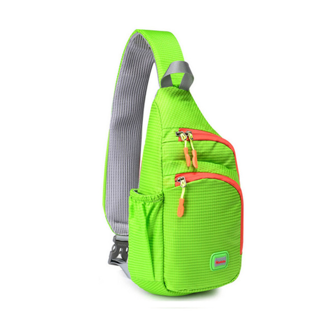 2017 New Unisex Nylon men woman High Quality Waterproof Nylon fashion Messenger Shoulder Bag Travel Camp Sling Chest Bag