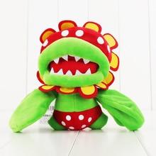 17 см Super Mario Bros Плюшевые игрушки пити Пиранья Дино Пиранья Мягкая кукла для детей