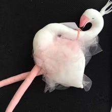 Newest Baby Boy girls Long Leg Swan Pillow Feeding Cushion Children Room Bedding Decoration Kids Plush Toys