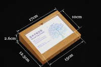 150 100mm Table Card Acrylic Table Sign Display Merchandise Function Price Description Tag Price Card Holder
