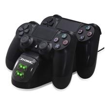 Dual Lade Dock Ladegerät Station Controller für Playstation 4/PS4 Controller