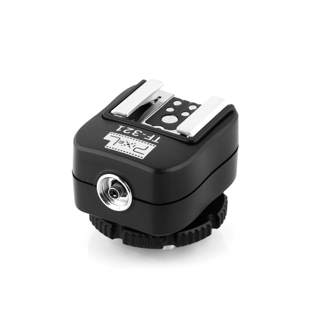 Penukar penyesuai kasut panas Pixel TF-321 TTL untuk kamera Canon - Kamera dan foto - Foto 2