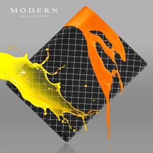 Image 2 - 現代のリップストップ生地二つ折りメンズ財布スーパースリムカードホルダー洗濯機耐久性と防水デザイナー財布有名な