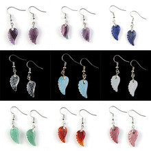 UMY New Trendy Silver Plated Multi Style Wing of Angel Drop Earrings For Women Designs Jewelry