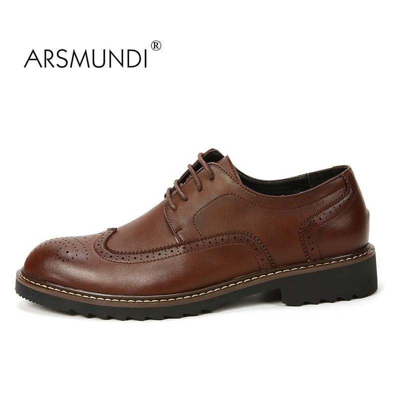 ARSMUNDI Original Hombres Zapatos Casuales Otoño 2017 Zapatos de - Zapatos de hombre - foto 3