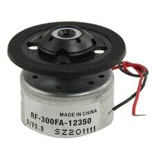 Высокое качество RF-300FA-12350 DC 5,9 V мотор шпинделя для DVD CD плеера серебро+ черный