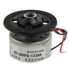 Alta qualidade RF-300FA-12350 dc 5.9v eixo do motor para dvd cd player prata + preto