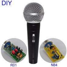 DIY Professional 25mm Capsules Musician Audio Studio Mic Sound Recording Music Record Condenser Microphone цены онлайн