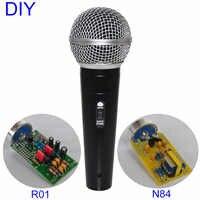 FAI DA TE Professionale 25 millimetri Capsule Musicista Audio Studio Microfono di Registrazione del Suono Record di Musica Microfono A Condensatore