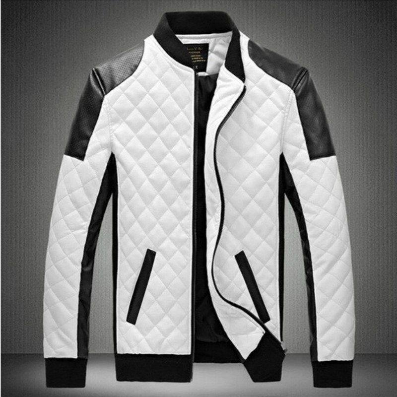 Compare Prices on Men Lether Jacket- Online Shopping/Buy Low Price ...