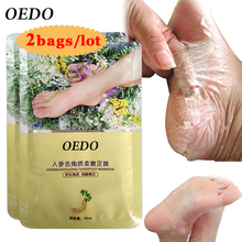 hot deal buy ginseng extract remove dead foot mask foot care peeling exfoliating skin care whitening beauty feet care tenderfoot membrane