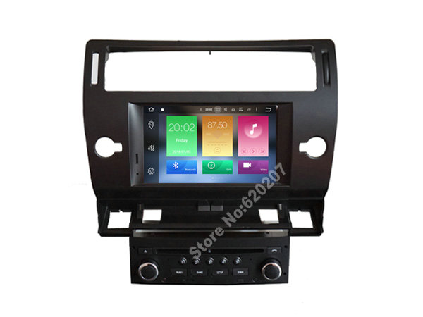 buy android 8 0 car dvd gps for citroen c4 2004 2012 support dvr wifi dsp dab. Black Bedroom Furniture Sets. Home Design Ideas