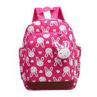 Mochilas escolares infantis das crianças Anti-perdidos mochilas bonito dos desenhos animados mochila crianças sacos de meninas da escola saco 1 ~ 6 anos de idade