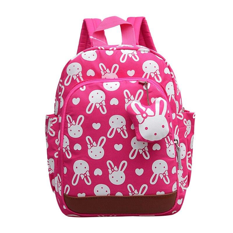 Mochilas escolares infantiles anti-perdidas mochilas de dibujos animados bonitas mochilas escolares para niños bolso para niñas 1-6 años