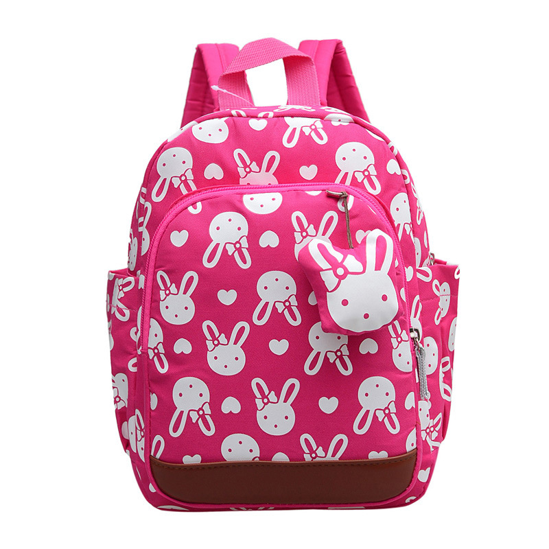 mochilas escolares infantis Anti-lost children's backpacks cute cartoon backpack kids school bags girls bag 1 ~ 6 years old