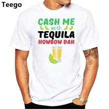 fb33a880e Cash Me With Tequila T shirt - Funny Cinco de Mayo Shirt Printed T Shirt  Cotton