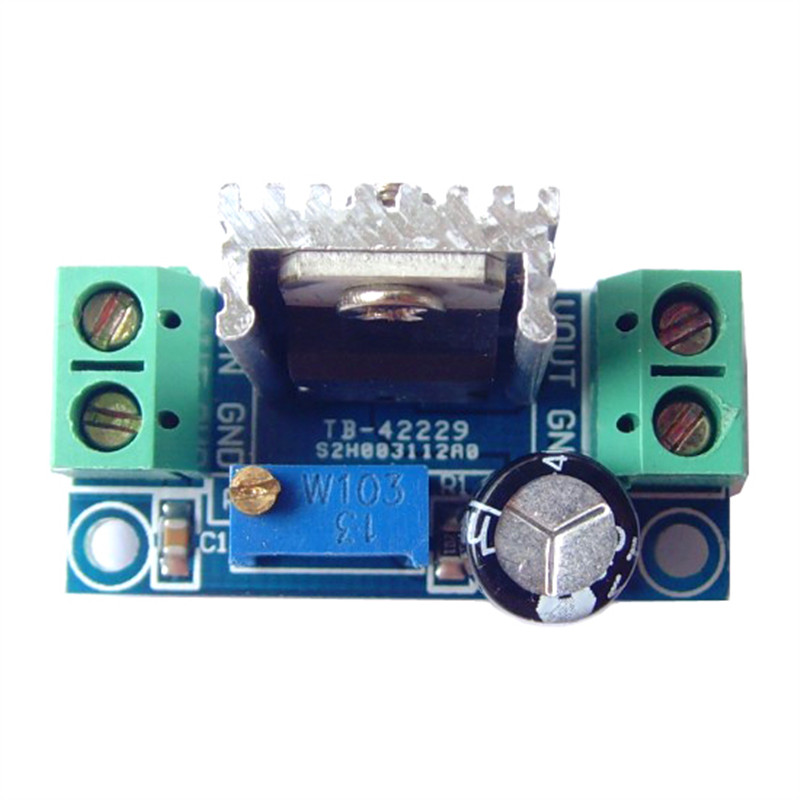 LM317 DC-DC converter step-down circuit board power supply module Adjustable Linear Regulator lm317 adjustable voltage regulator step down power supply module