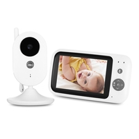Reebeen 3.5 inch 2.4GHz Wireless TFT LCD Video Baby Monitor Night Vision 2 way Audio Infant Baby Camera Digital Video Monitor