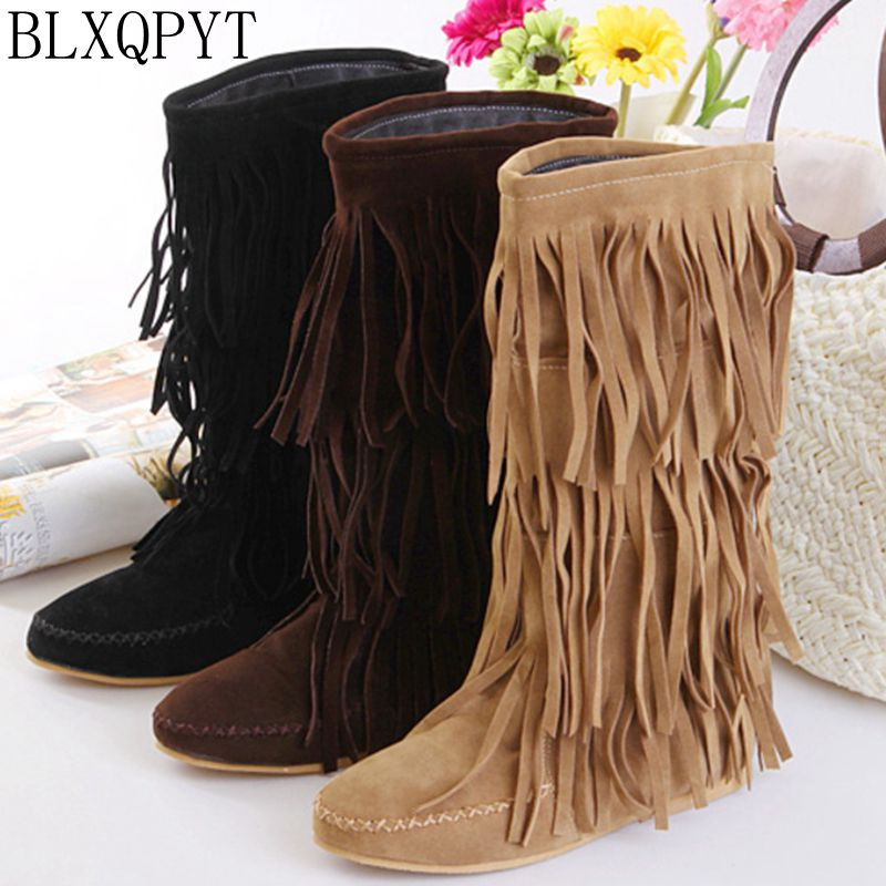 winter safety long thigh high women woman femininas long boots botas masculina zapatos botines mujer chaussure femme shoes B-1
