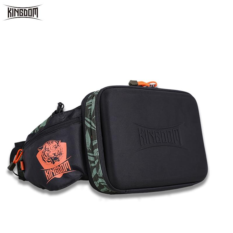 Kingdom 2019 New Waterproof Fishing Bag Large Capacity Multifunctional Fishing Lure Box Tackle Backpack Outdoor Shoulder Bags