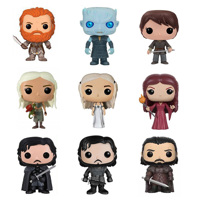 Costume Props Glorious Funko Pop Game Of Thrones Daenerys Stormborn Jon Snow Night King 10cm Action Figure Collection Pvc Model Toy For Christmas Gift