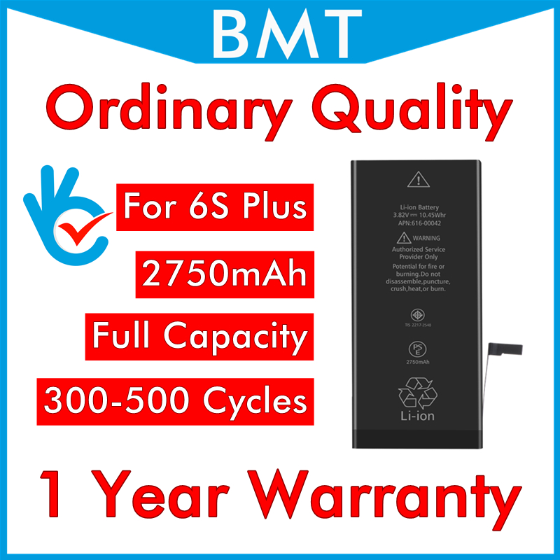 Zero-Cycle-Battery Replacement IPhone 6s Plus Original For 6SP Repair-Parts/bmti6spoq