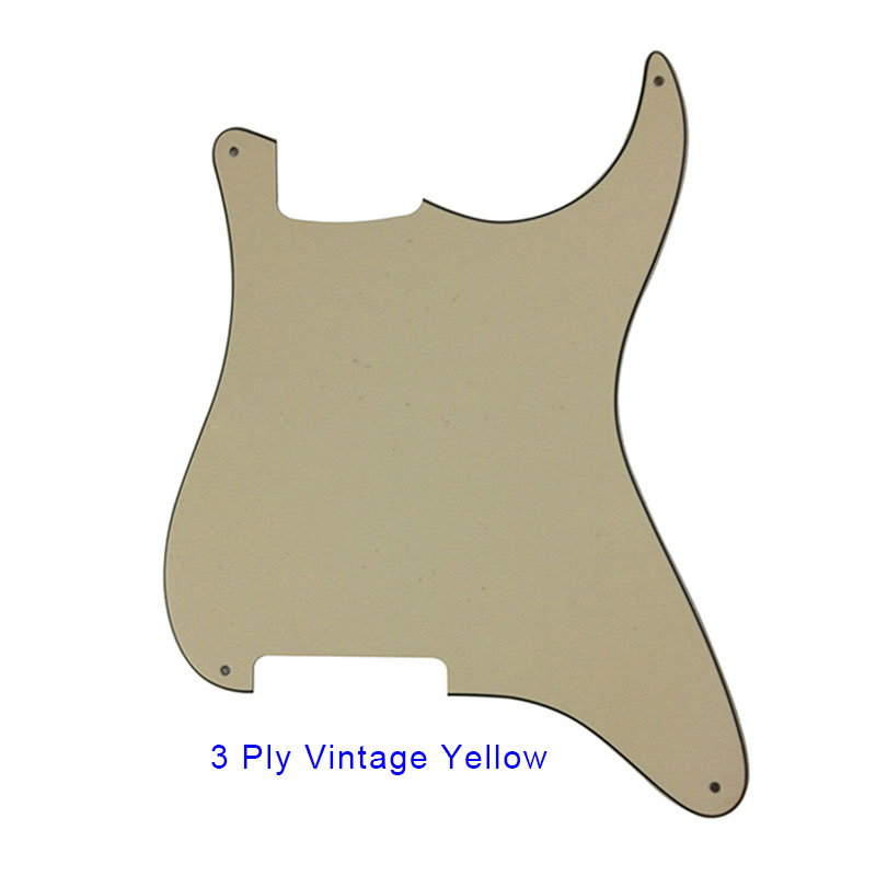 Pleroo guitar parts 4 Holes Pickguard Blanks Material with Real Aluminum foil shield for Strat Style Guitar Stratocaster Custom in Guitar Parts Accessories from Sports Entertainment