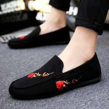 Mazefeng 2018 New Fashion Summer Men Casual Shoes Cloth Slip-on Male Breathable Personalities Wear-resistant