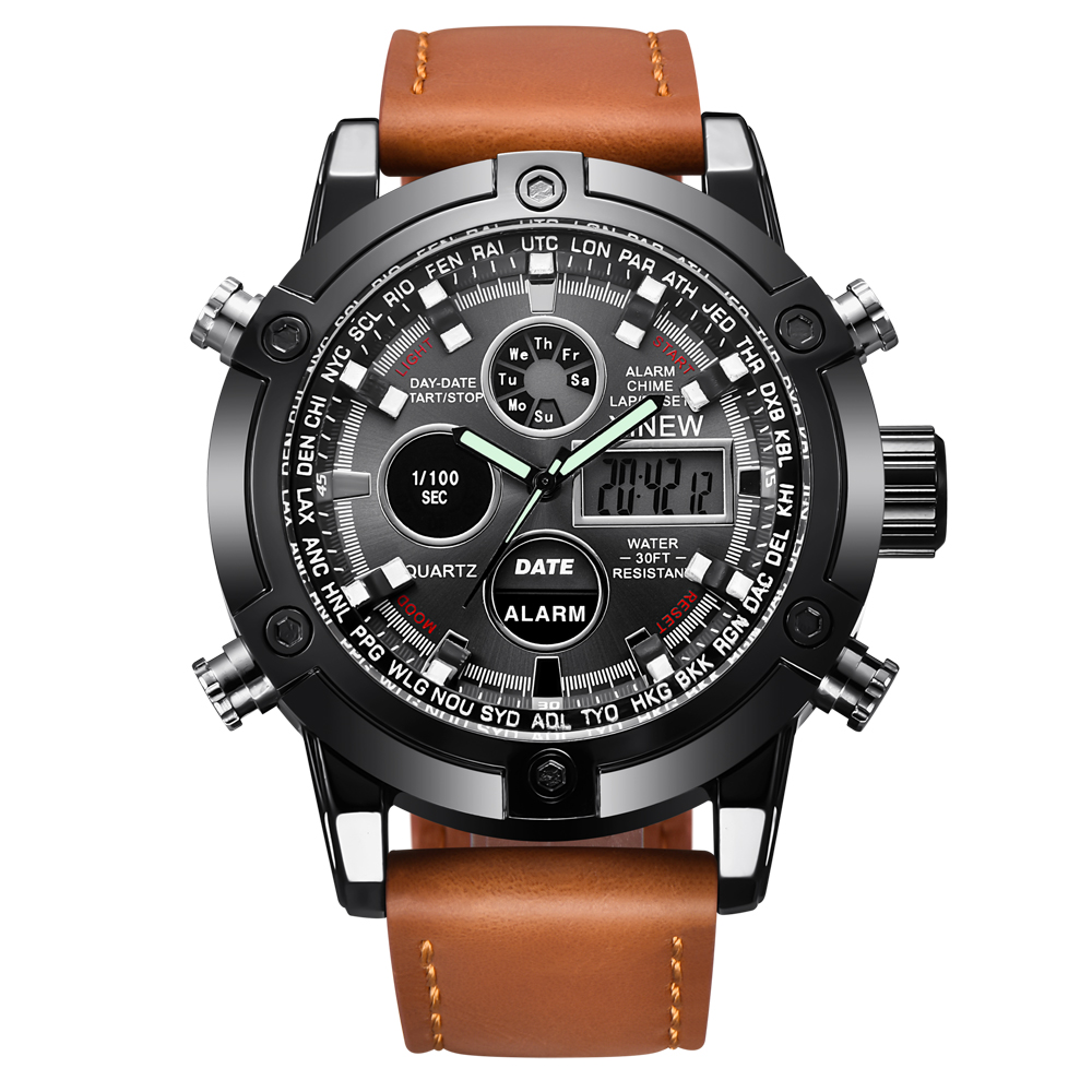 Famous Brand Watches Mens Big Chronograph Watch Men ...