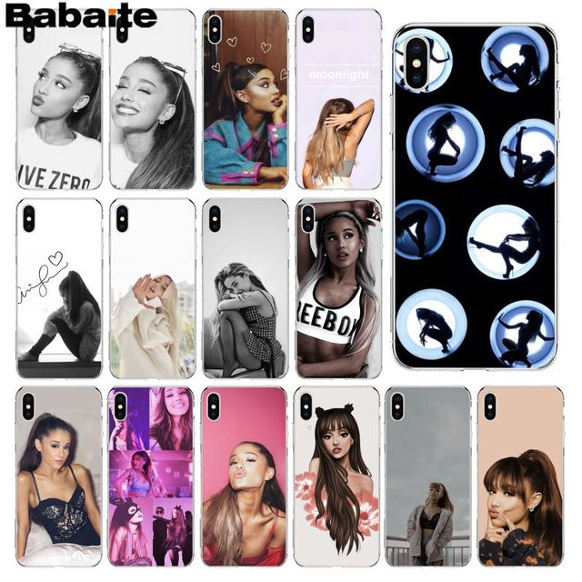 36d32fe01db Babaite Cat Ar Ariana Grande Novelty Fundas Phone Case Cover for iPhone 8 7  6 6S Plus 5 5S SE XR X XS MAX Coque Shell
