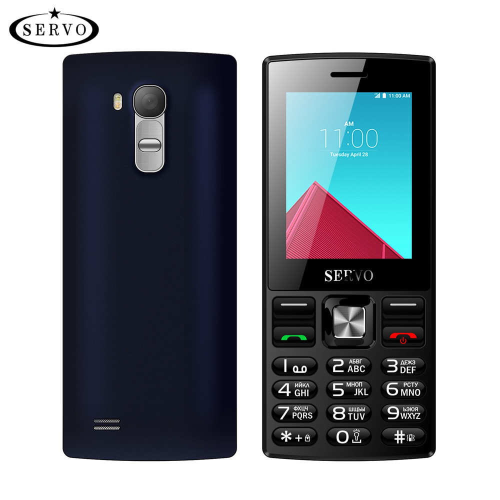 D'origine Téléphone Quad Bande 2.4 pouce écran Dual SIM Cartes téléphone portable GSM Bluetooth lampe de Poche MP3 MP4 FM GPRS avec Russe clavier
