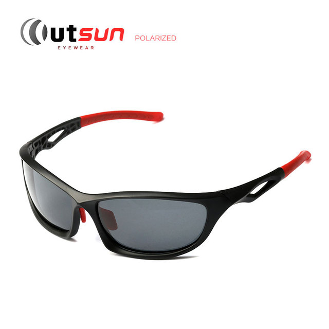 8c47656887 OUTSUN TR90 Unbreakable Sunglasses Polarized Men Women Brand Designer High  Quality Golf Sun Glasses