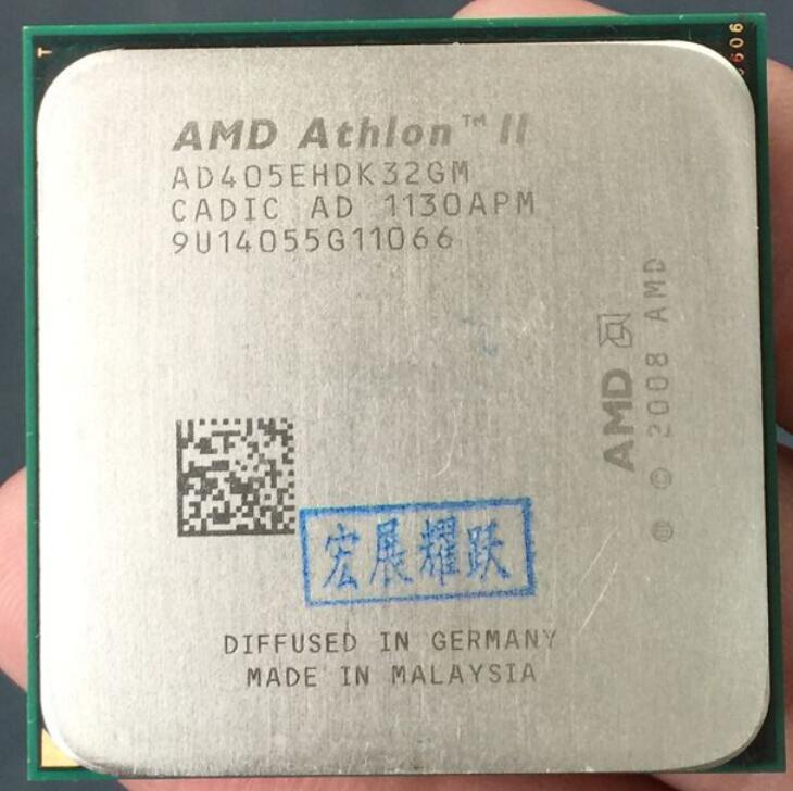 AMD Athlon II X3 405E  X405E  Three Core AM3 938 CPU 100% Working Properly Desktop Processor