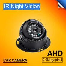Veículo à prova d' água Dom Interior CCTV AHD Camera 2.0MP HD de Metal câmera Com Ângulo de Visão Ampla Visão Noturna Taix Ônibus Do Caminhão Do Carro câmera