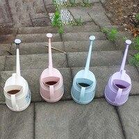 Новый пластик длинный рот полив горшок бытовой Садоводство инструменты цветы в горшке лейки