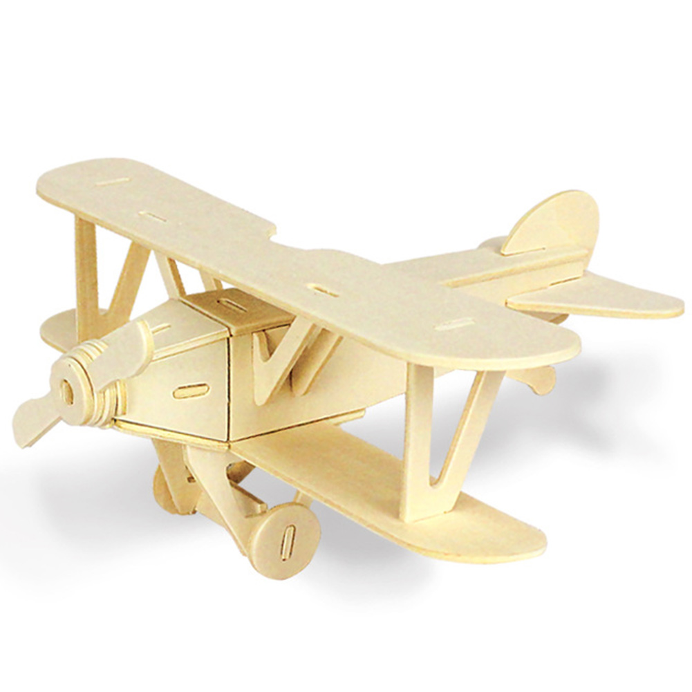 3D Adults Game Children Kids Gift Car Vehicle Learning Educational DIY Assemble Toy Hobbies Wooden Model Truck Aircraft