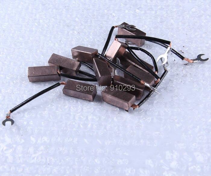 Image 5 - Escova de carbono de cobre misturada 12*12*32mm escova de carbono de alta qualidadecopper carbon brushesbrush brushbrush carbon -