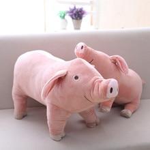 """1 pc 40 ס""""מ סימולציה יפה ממולא בעלי החיים בובת חזיר צעצוע חזיר רך חמוד Cartoon חזיר ילדי כרית מתנת יום הולדת יצירתיים צעצוע לילדה"""