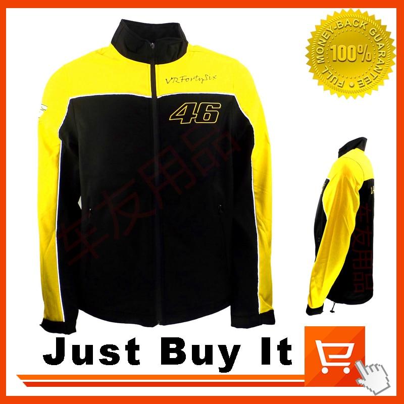 Great Quality 2016 New pattern font b Sweater b font Yellow Valentino Rossi moto gp No
