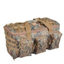 Camouflage Multifunktionale Gepäcktasche Große Kapazität Bag herren Military Rucksack 55L Reise Rucksäcke Außentaschen