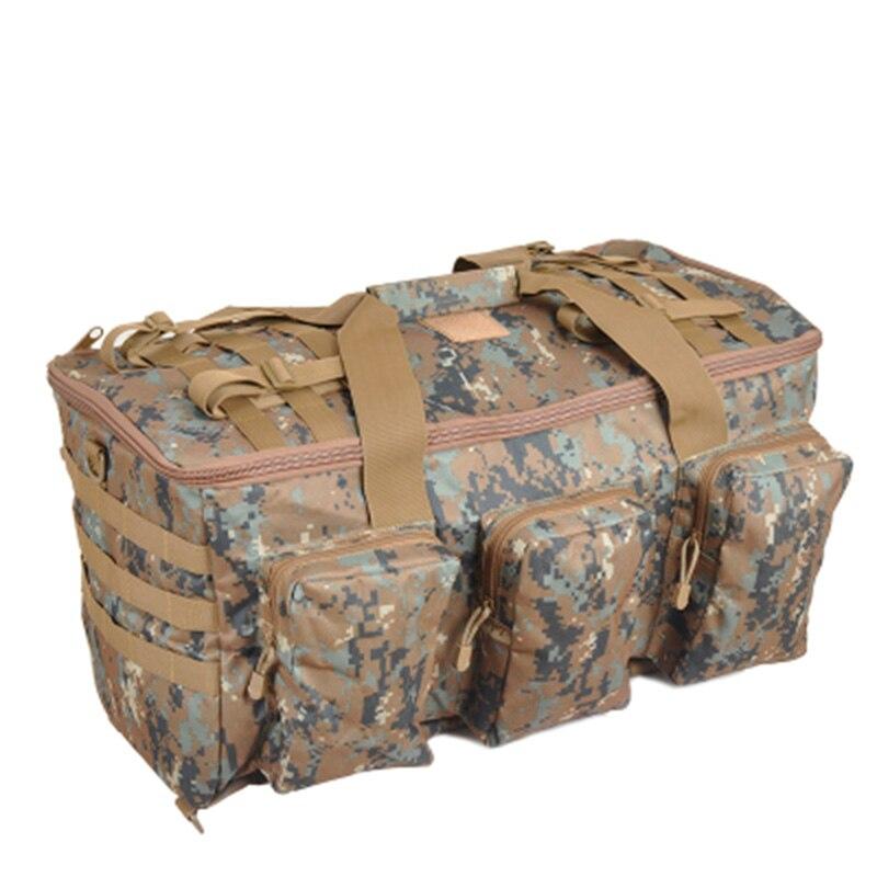 Prix pour Militaire de Camouflage Multifonctionnel Sac À Bagages Grande Capacité Sac Hommes Sac À Dos 55L Voyage À Dos En Plein Air Sacs