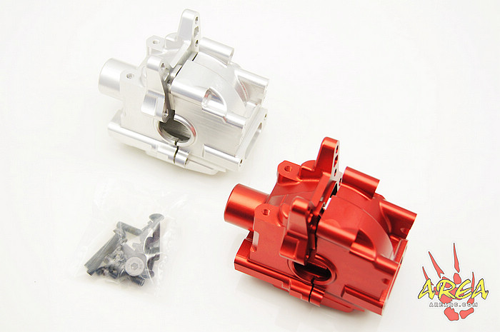 Area Rc parts Front Alloy Diff  Gearbox Transmission for LOSI 5IVE-T losi 5ive t billet diff housing diff case 1 pc red and silver can choose