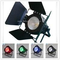 4Pcs Free shipping China new led par light RGBW or white single par led cob dmx