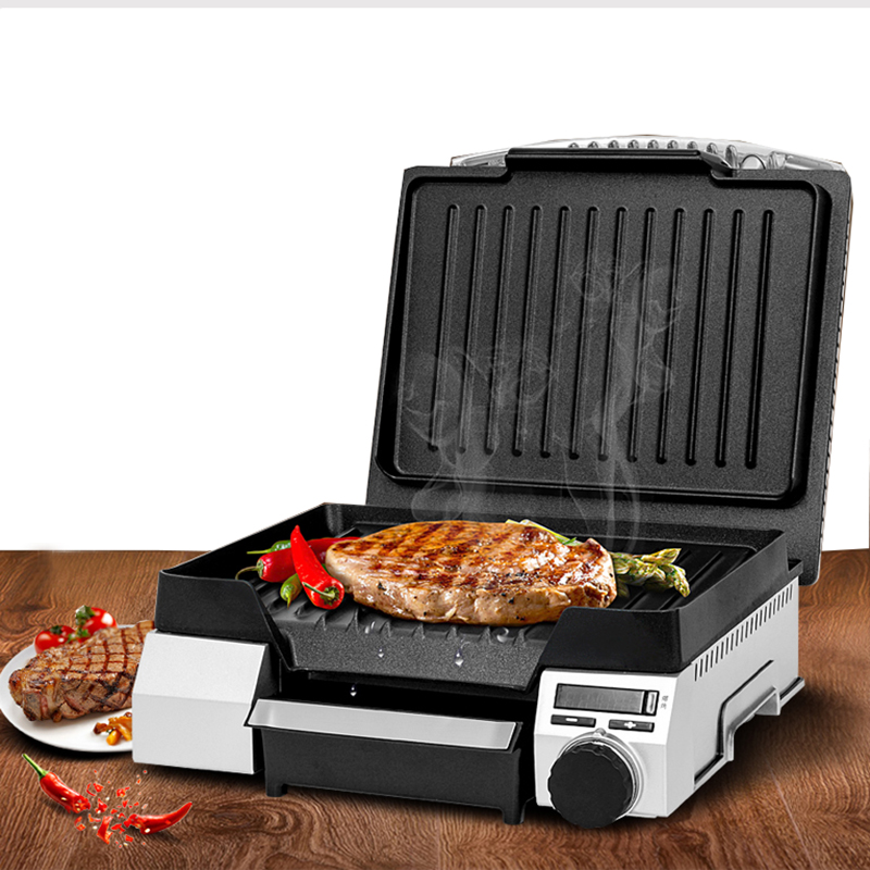 где купить Professional steak machine electric non-stick pan griddles stainless steel housing steak machine TSK-26R2ET14 по лучшей цене